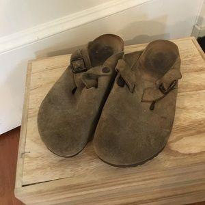 Birkenstock Clog Tan size 39